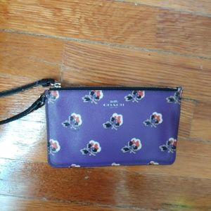 Coach Purple Floral wrislet